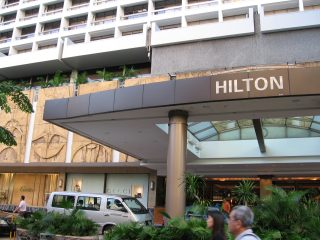 Hilton разместился по-крупному