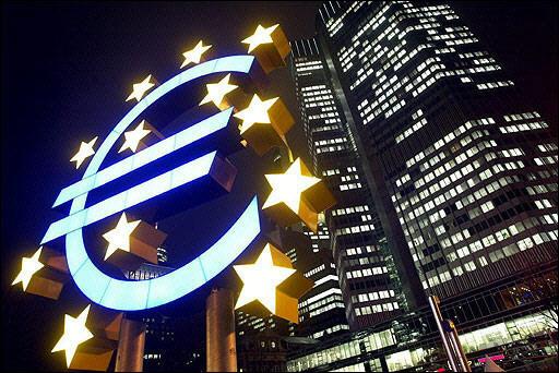 ЕЦБ: Инфляция в зоне евро в текущем году составит 1%
