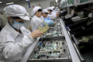 Доходы Foxconn растут на фоне рекордных продаж Apple