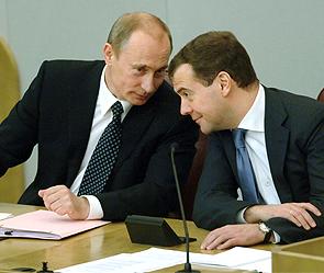 Доход Путина оказался ниже Медведева