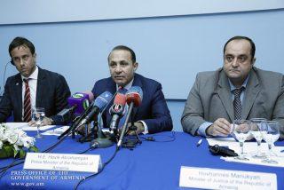 При участии Овика Абраамяна стартовала Программа действий национальной стратегии защиты прав человека
