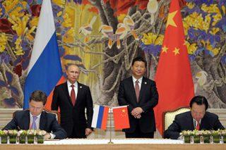 Новый контракт на поставку газа в Китай