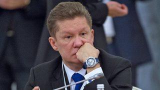 Алексей Миллер. поставки газа в Европу выросли на 9.7% за 8 месяцев