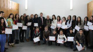Beeline и СОС Армения: участники проекта «Навыки работы с цифровыми технологиями для молодежи» получили сертификаты