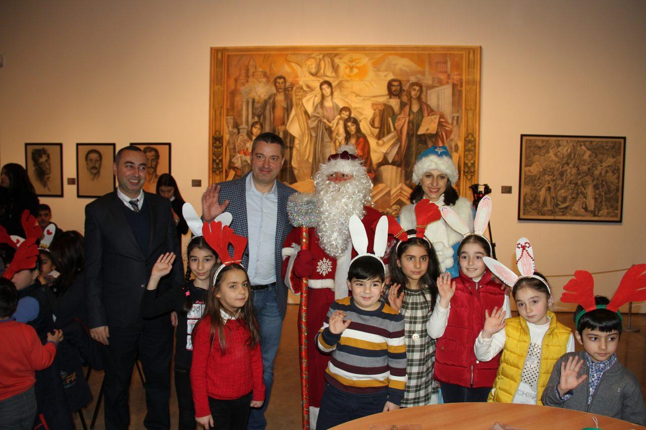 При поддержке Beeline в Центре искусств Гафесчян прошла детская праздничная программа
