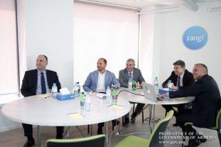 Карен Карапетян ознакомился с программами компании Zangi