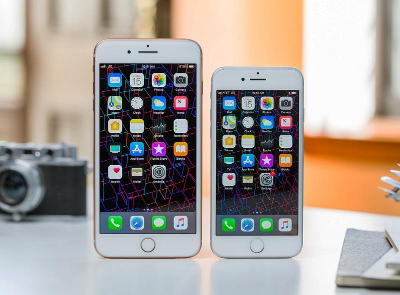 ВиваСелл-МТС: «iPhone 8» и «iPhone 8 Plus» уже в продаже