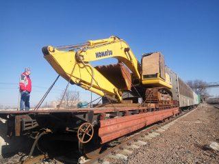 ЮКЖД впервые организовала и осуществила перевозку груза в Киргизию