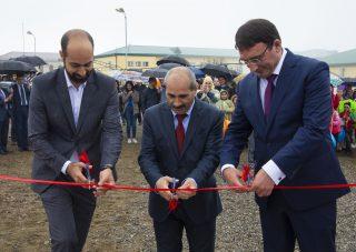 При поддержке Конверс Банка в Шуши построена профессиональная спортивная площадка