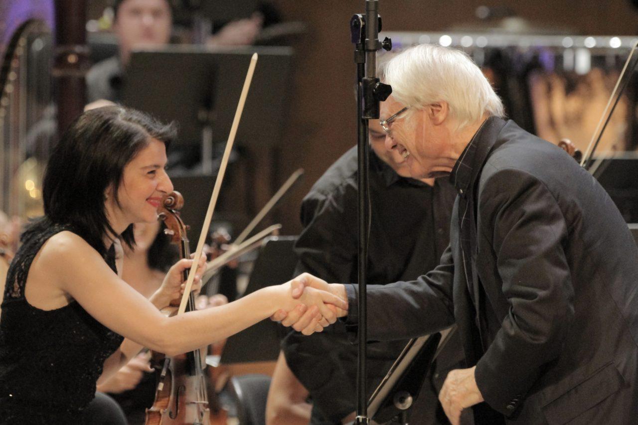 Конверс Банк и НФАА представили в Армении премьеру Концерта Тиграна Мансуряна для виолончели