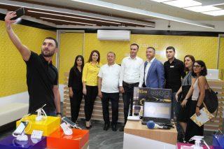 В районе Эребуни открылся новый офис Beeline