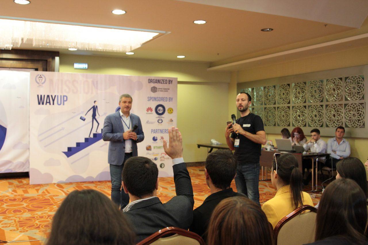Гендиректор Beeline выступил с лекцией перед участниками Международной школы молодых лидеров