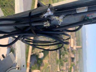 Неизвестные вывели из строя мобильную станцию Ucom в Армавире