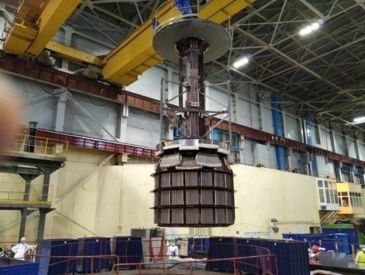 Росатом. Лучшие специалисты атомной отрасли приступили к отжигу корпуса реактора Армянской АЭС
