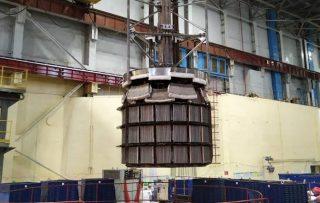 Завершен отжиг реактора ААЭС