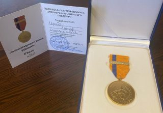 Сотрудники Ucom получили награды за заслуги перед отечеством