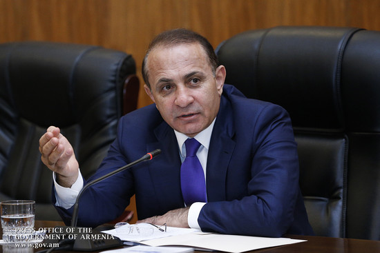 Заседание Правительства Армении - 31/07/14