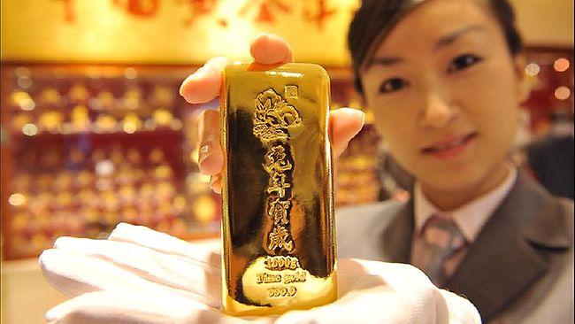 Спрос на золото в Китае повысился на 32%