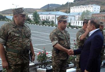 Премьер-министр Армении в сопровождении Министра обороны посетил N-скую воинскую часть в Тавушской области