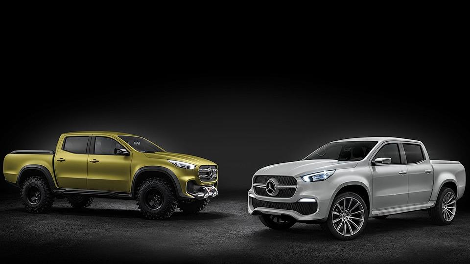 Состоялась мировая премьера пикапа Mercedes-Benz X-Class