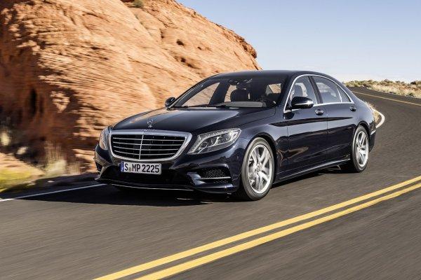 Mercedes-Benz S-Class - самый популярный автомобиль в Москве