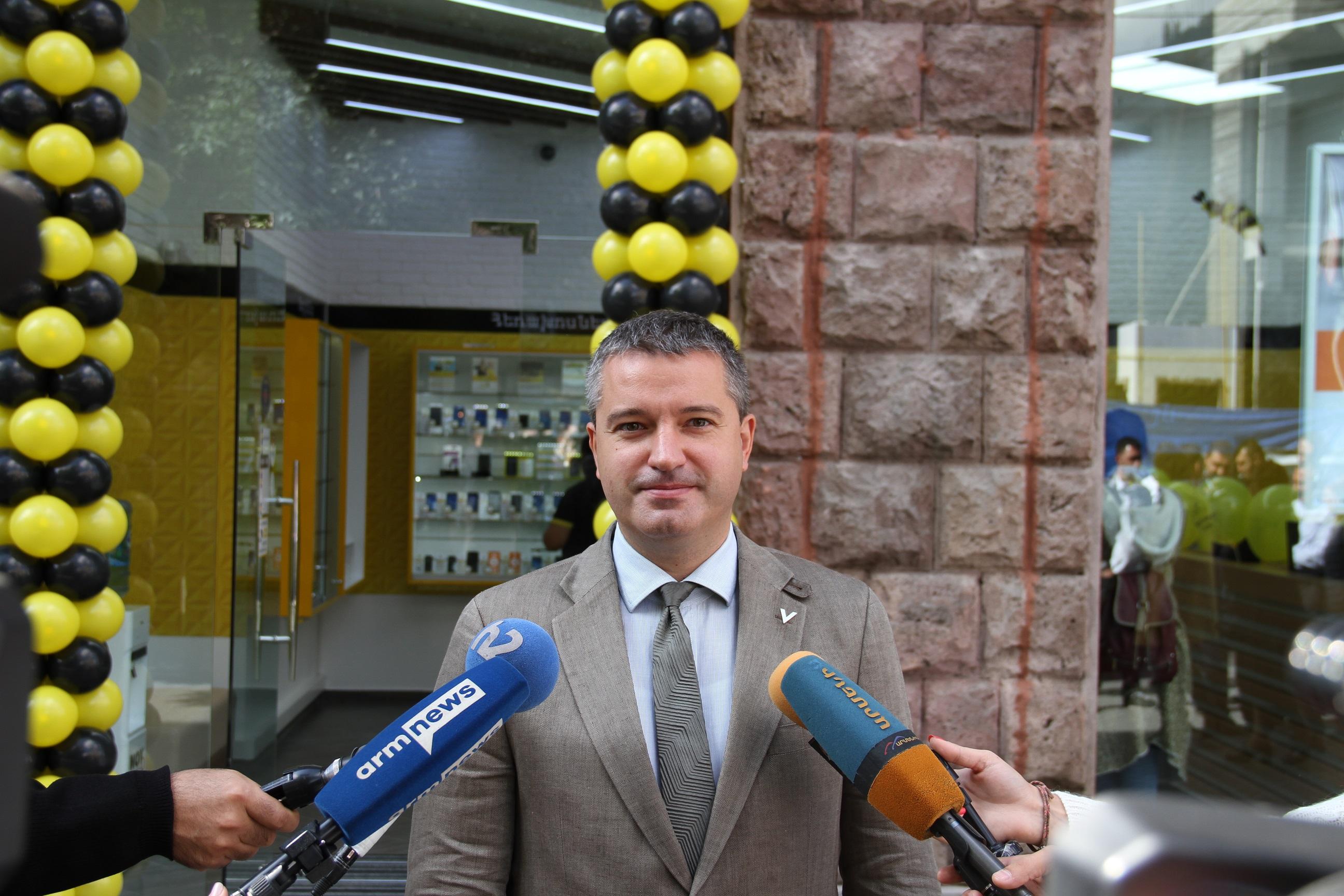 Beeline: В центре Еревана откроется новый офис продаж и обслуживания