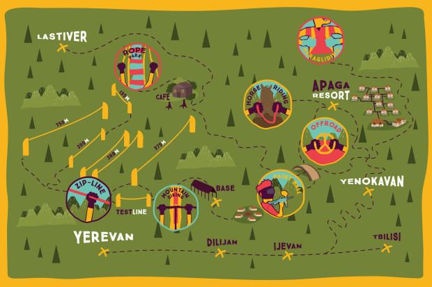 Самый длинный в мире зиплайн будет готов в Армении в следующем месяце