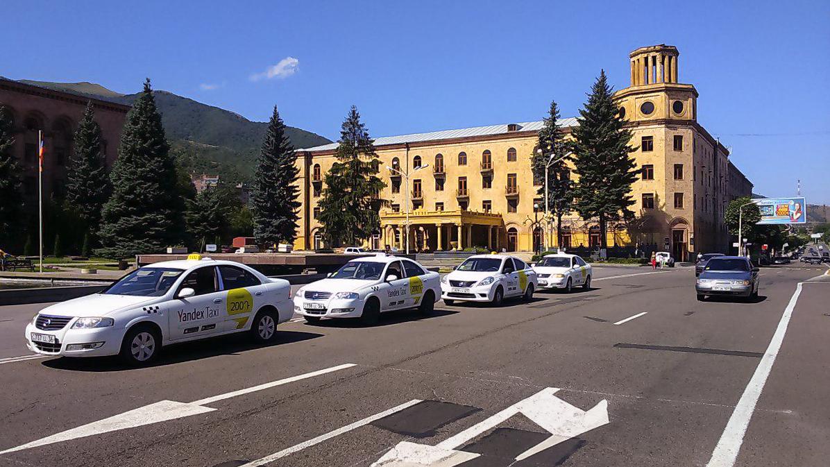 Яндекс.Такси доступно в Ванадзоре
