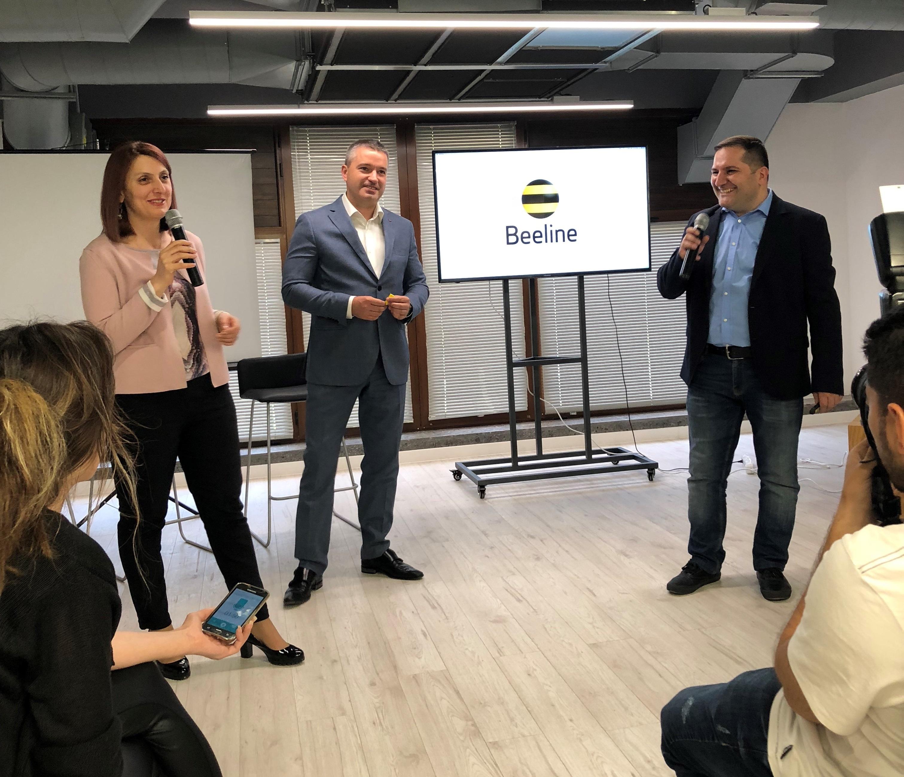 В Ереване открылся Beeline Startup Incubator