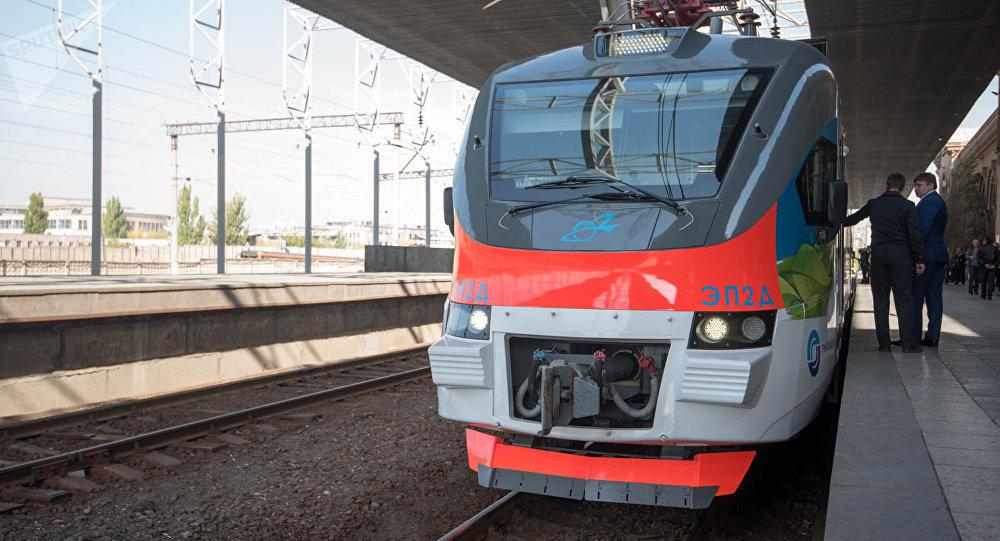 ЮКЖД: Электропоезда Ереван-Гюмри-Ереван курсируют по графику