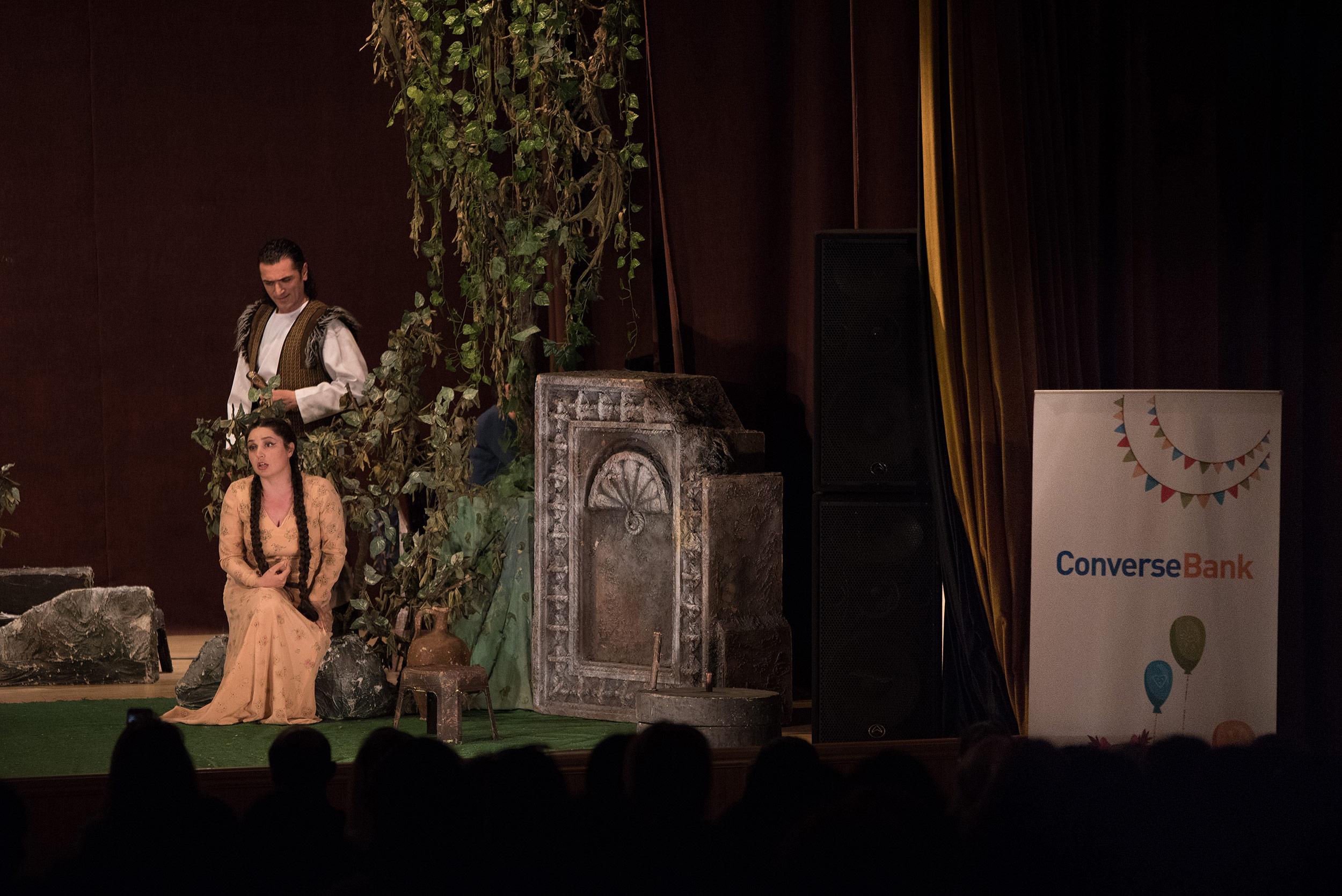 """При содействии конверс банка в ванадзоре состоялось представление оперы """"Ануш"""""""