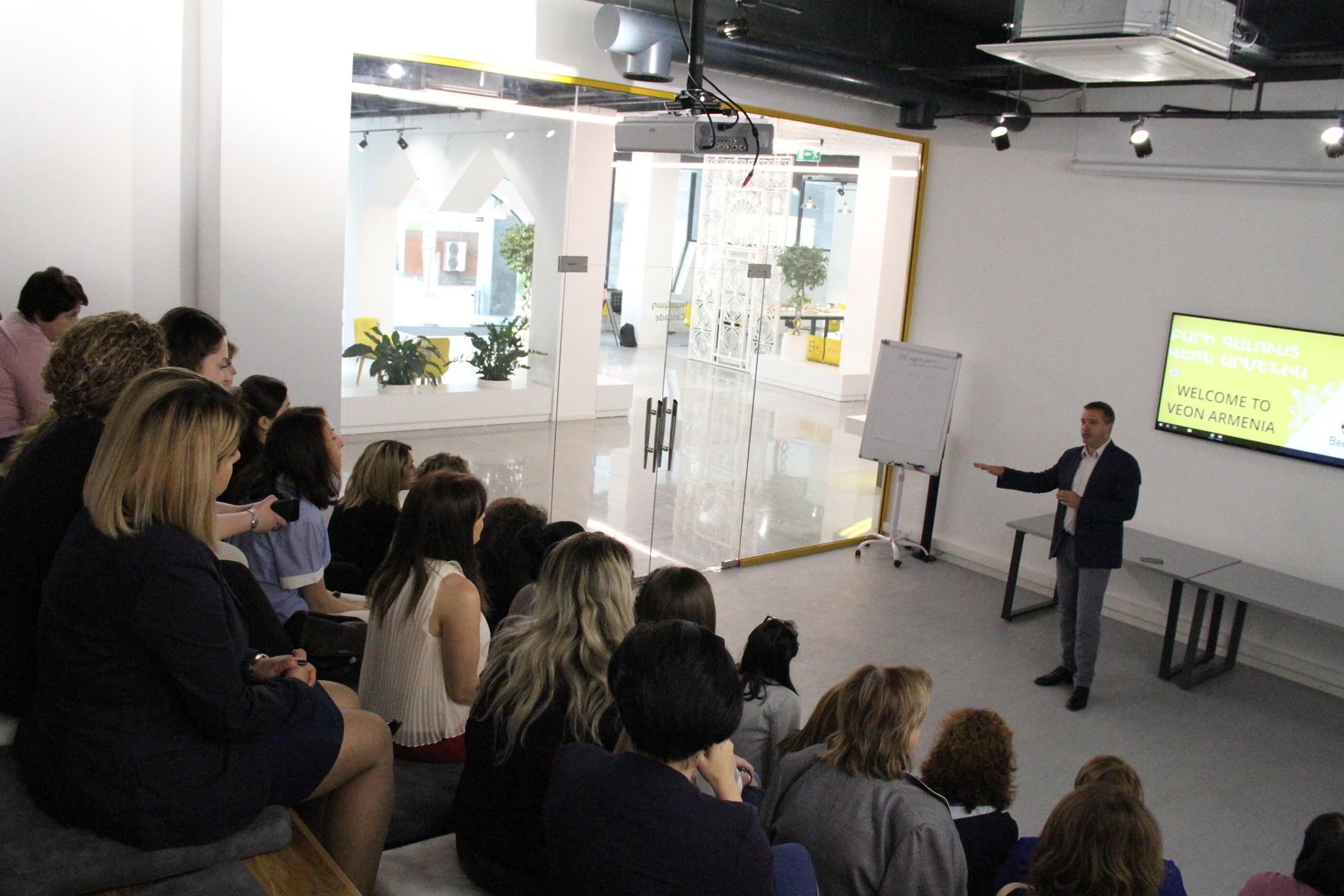 В Beeline прошла встреча с HR-ассоциацией Армении