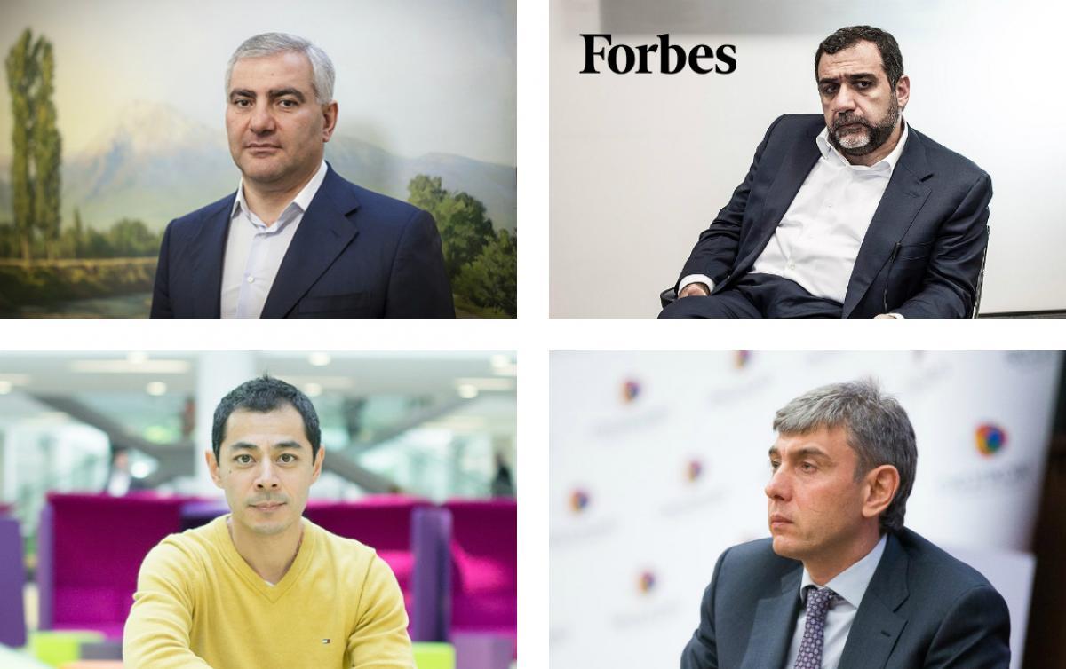 Forbes. Самые богатые армяне России - 2019