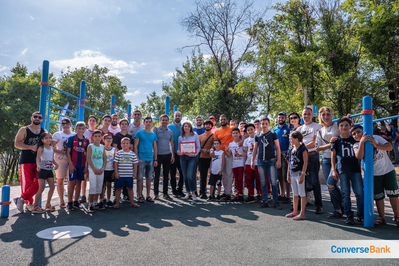 Очередная инициатива Конверс Банка по здоровому образу жизни была реализована в Ереване