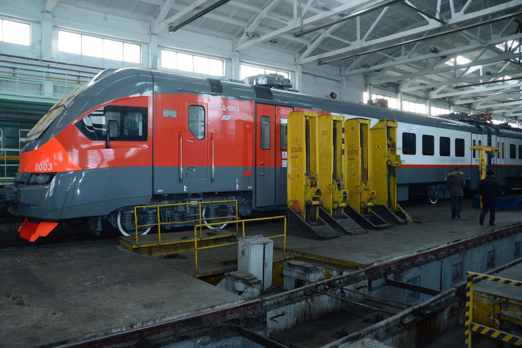 В ЗАО «ЮКЖД» продолжается модернизация подвижного состава