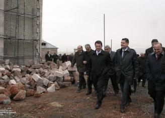 Премьер-министр с рабочим визитом отбыл в Ширакскую область