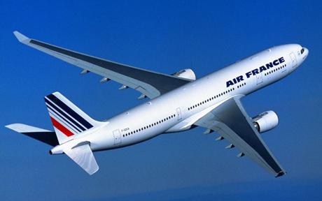 Годовой убыток Air France составил 1,827 млрд. евро