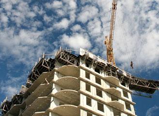 В США сократился объем строительства новых домов