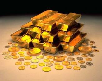 Золотовалютные резервы России выросли на 2,3 млрд. долл.