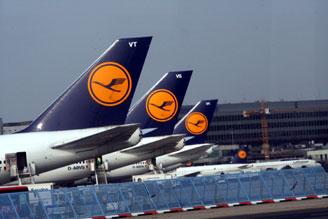 Lufthansa отменила около 600 рейсов из-за забастовки