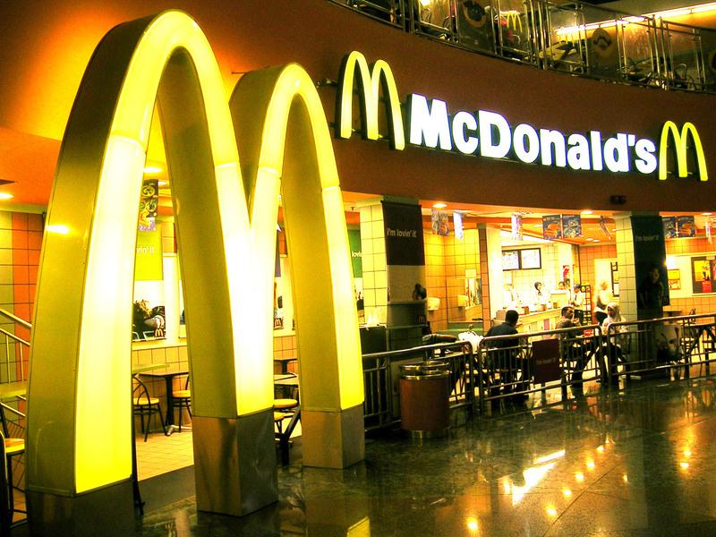 Рестораны McDonald`s в 2012 году в России увеличили выручку почти на 20%
