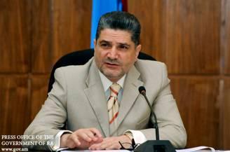 Тигран Саркисян принял делегацию из Туркменистана