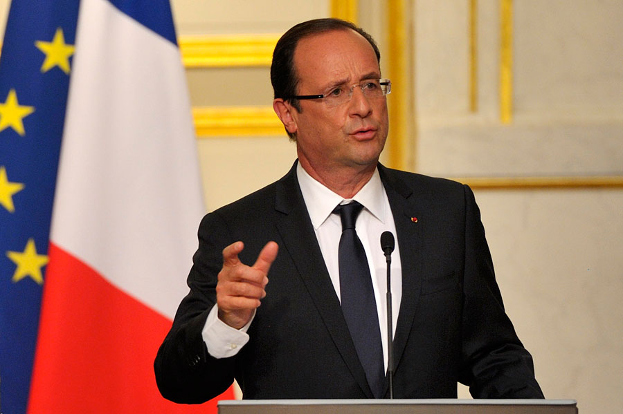Ф.Олланд: Кризис в еврозоне подошел к концу