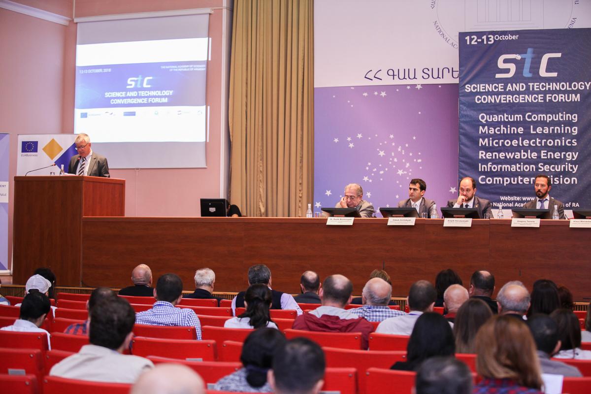 Երևանում անցկացվեց «Գիտության և տեխնոլոգիաների մերձեցում» ամենամյա գիտաժողովը