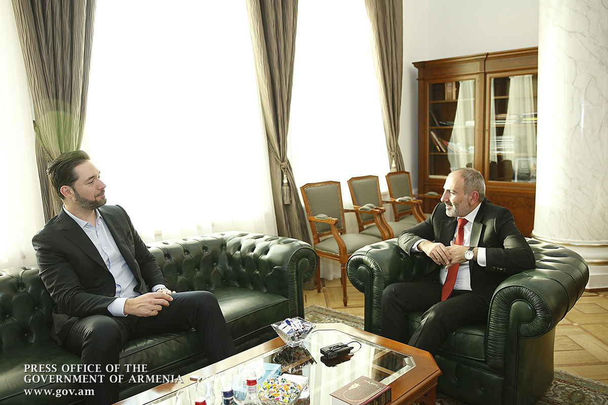 Վարչապետը և Ալեքսիս Օհանյանը քննարկել են Հայաստանում ՏՏ ոլորտի զարգացման հարցեր
