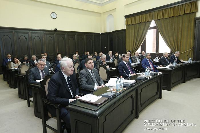ՀՀ Կառավարությունում սկսվել է Մաքսային միության սակագնային կարգավորումը