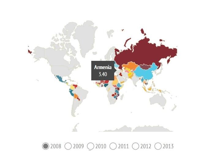 Որքա՞ն գումար է ծախսում ԱՄՆ-ն այլ երկրներում ժողովրդավարության զարգացման նպատակով