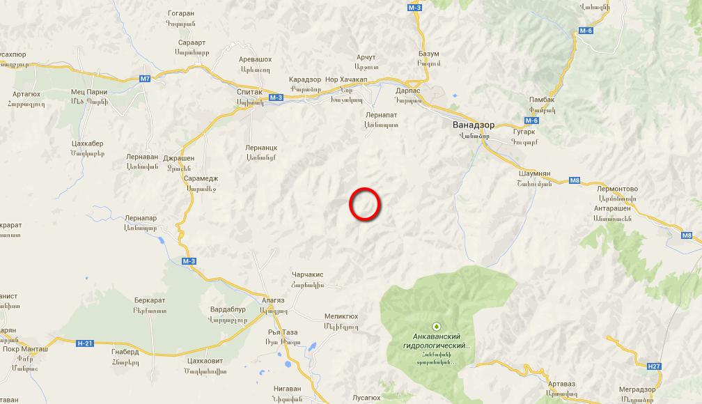 Հայաստանում տեղի է ունեցել 5 բալ հզորությամբ երկրաշարժ. էպիկենտրոնը՝ Վանաձոր