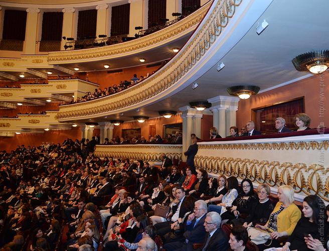 Նախագահը ներկա է գտնվել Վլադիմիր Սպիվակովի համերգին՝ նվիրված Հայոց ցեղասպանության 100-րդ տարելիցին