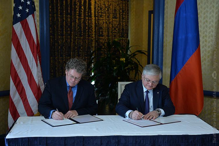 ՀՀ և ԱՄՆ միջև ստորագրվել է առևտրի և ներդրումների մասին շրջանակային համաձայնագիր